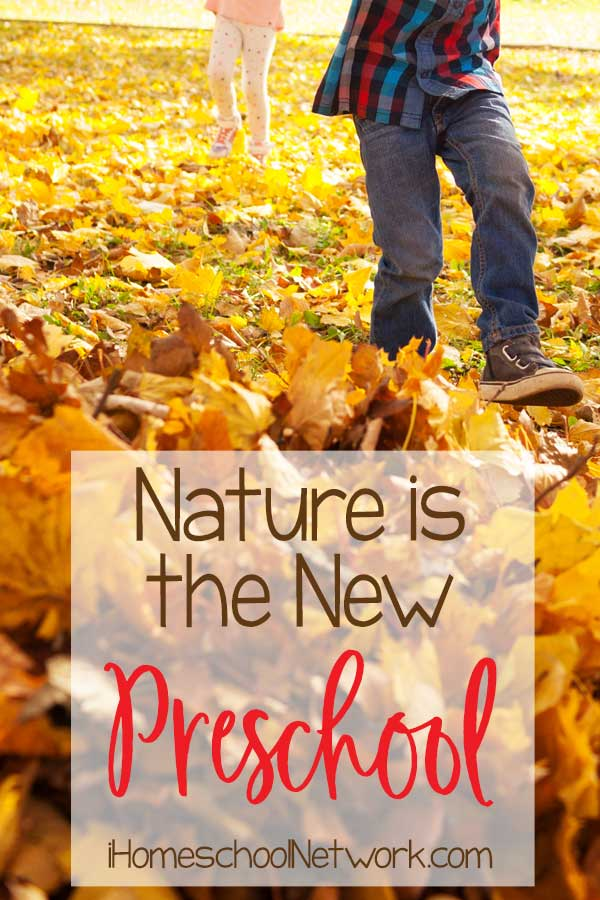 Nature is the New Preschool