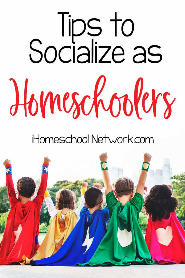 Tips to Socialize as Homeschoolers