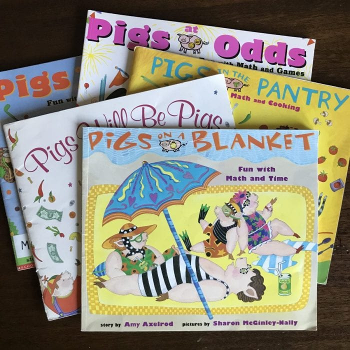 Pigs Will be Pigs Picture Book to Teach Math