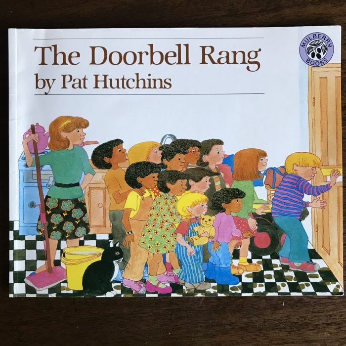 The Doorbell Rang Picture Book to Teach Math