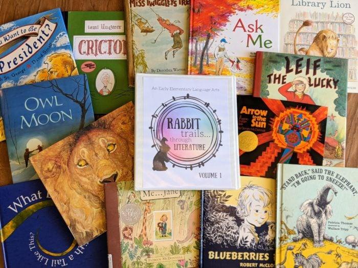 Rabbit Trails through Literature is the new way to learn langueage arts through literature in your homeschool. #languageartscurriclum #rabbittrails