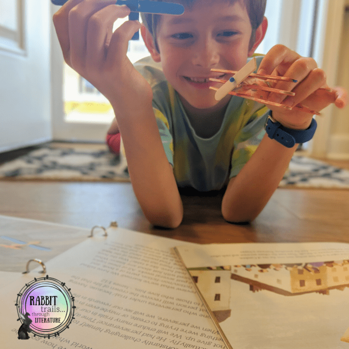 Three reasons to consider learning language arts through literature when you're choosing your homeschool curriculum. #languagearts #curriculum #rabbittrailsthroughliterature
