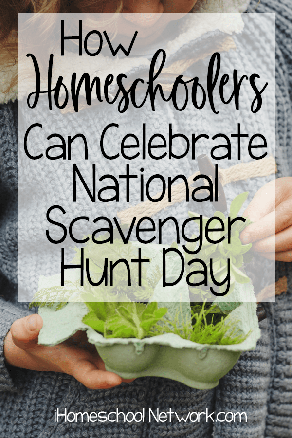 How Homeschoolers Can Celebrate National Scavenger Hunt Day