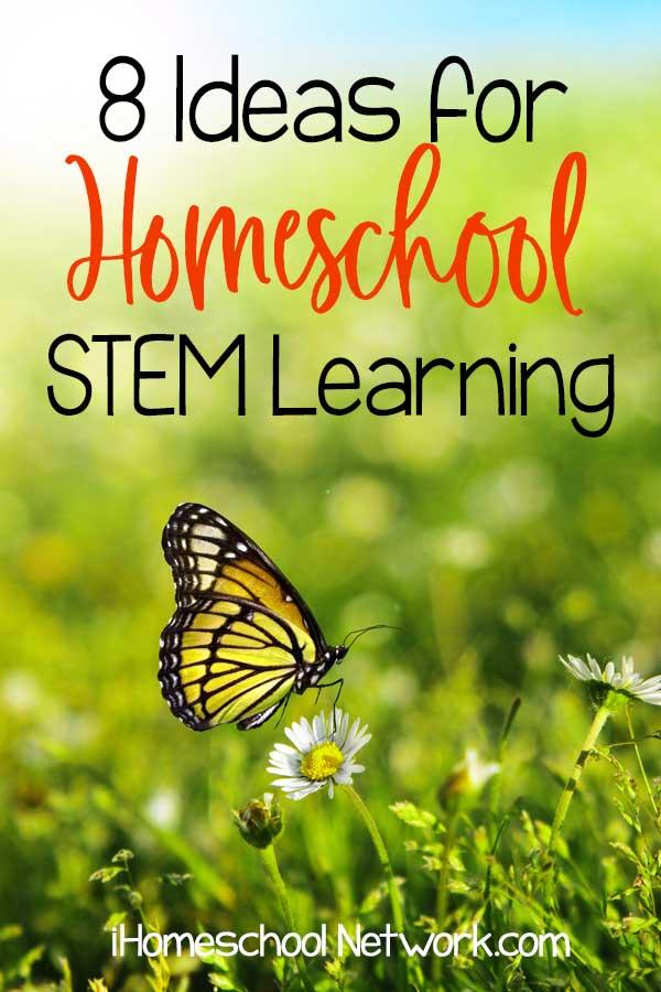 8 Ideas for Homeschool Summer STEM