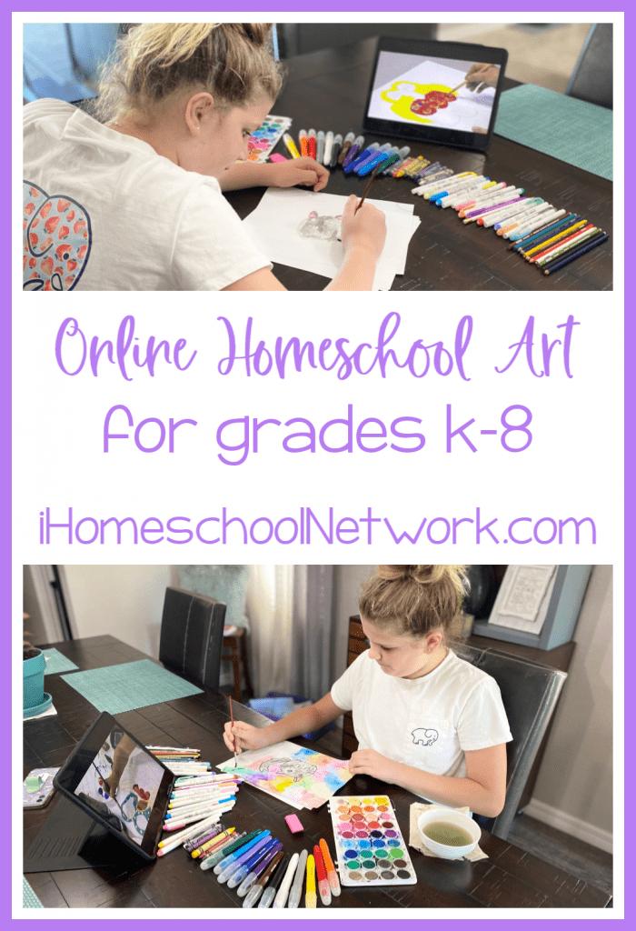 Online Homeschool Art Curriculum
