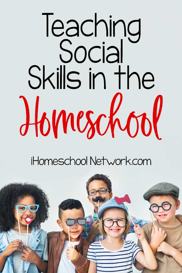 Teaching Social Skills in Homeschool