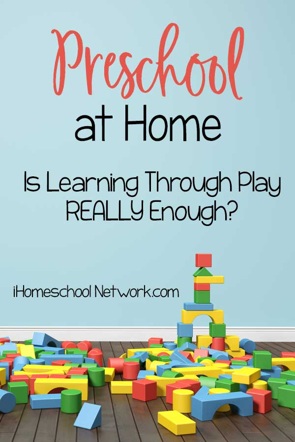 Preschool at Home: Is Learning Through Play Really Enough?