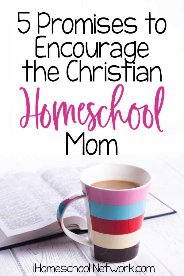 5 Promises to Encourage the Christian Homeschool Mom