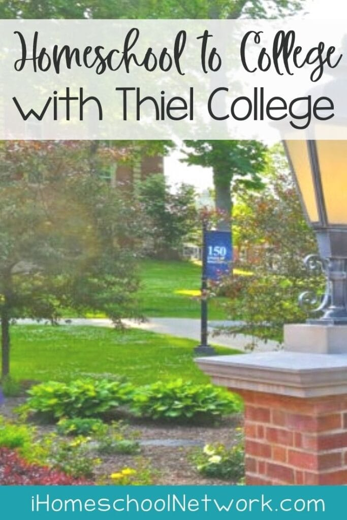 Homeschool to College with Thiel College