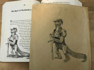 Study by Benjamin Tutwiler; original illustration by Joe Sutphin in Warden and the Wolf King by Andrew Petersen.