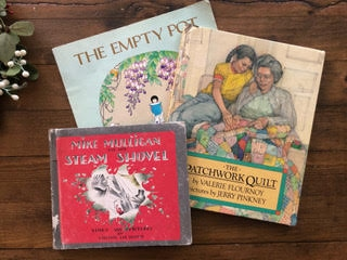 A Simple Way to Teach Art is Through Books Like the ones pictured