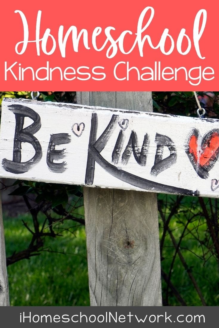 Homeschool Kindness Challenge