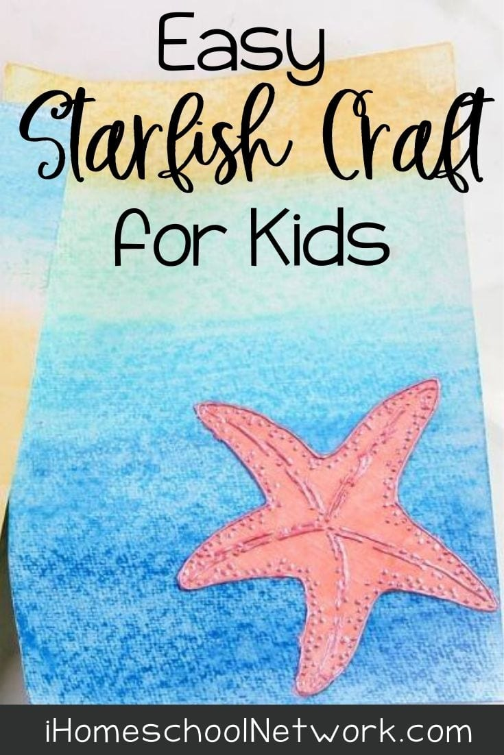 Easy Starfish Craft for Kids