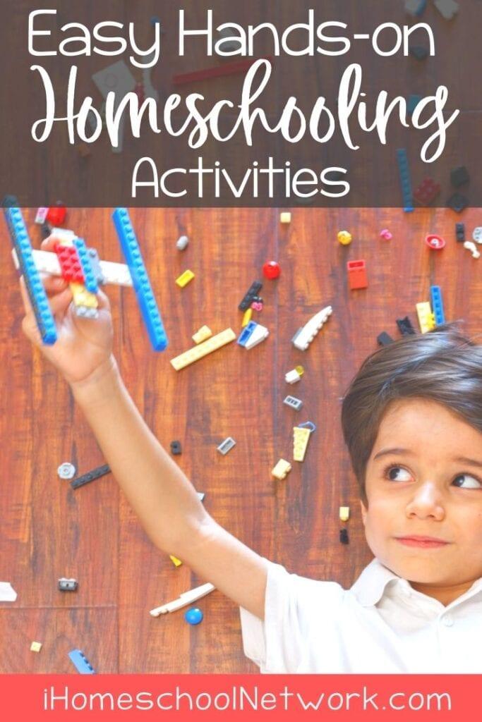 Hands-on Activities in Your Homeschool Day