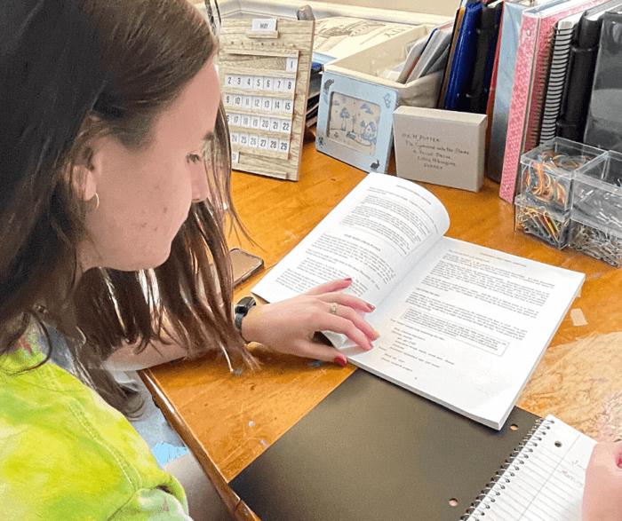 Using writing curriculum from Common Sense Press