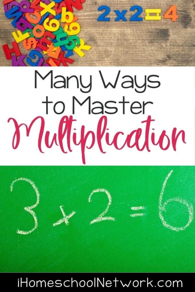 Many Ways to Master Multiplication