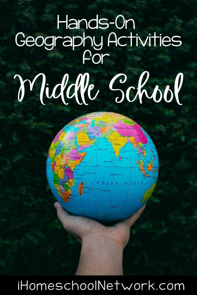 Hands-on Geography Activities for Middle School