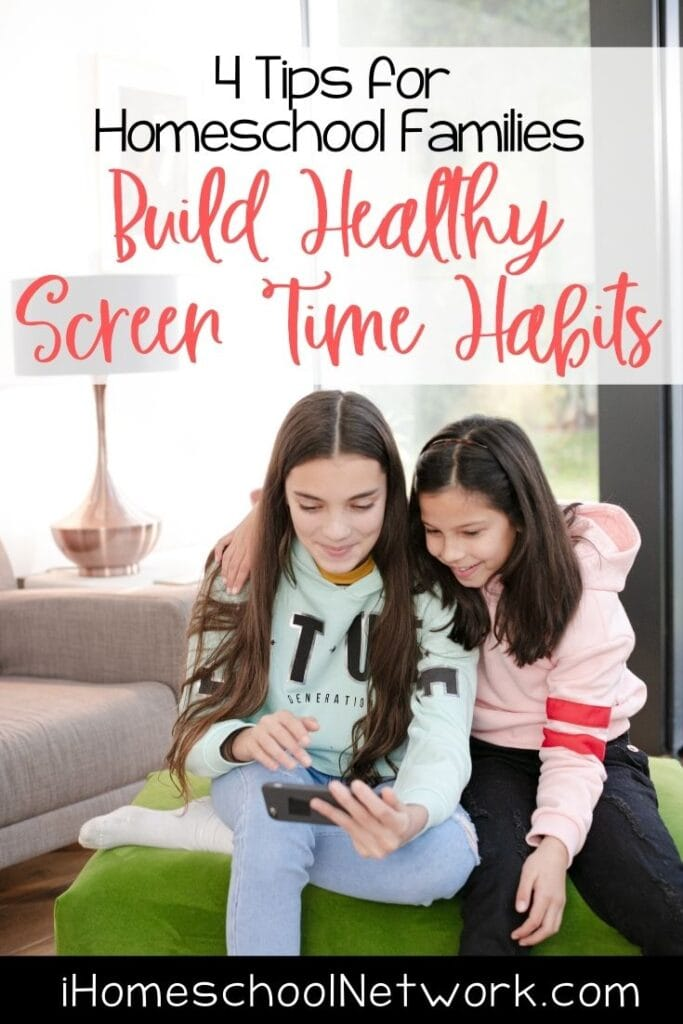 Build Healthy Screen Time Habits